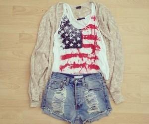 fashion, usa, and clothes image