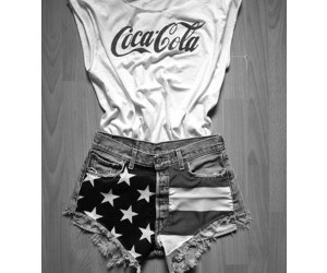 style, coca cola, and outfit image