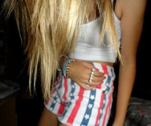 blonde, outfit, and party image