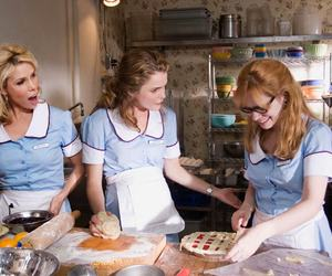 actresses, waitress, and keri russell image