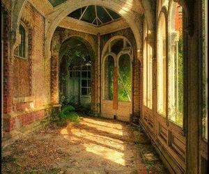 door, portal, and vintage image