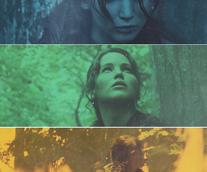 Jennifer Lawrence, trilogy, and catching fire image