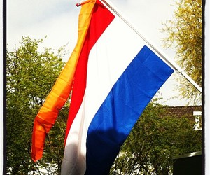 flag, king, and thenetherlands image