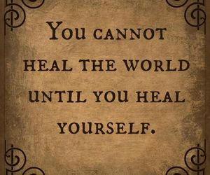 quote, heal, and healing image