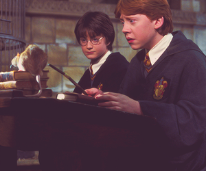 harry potter, movie, and ron weasley image