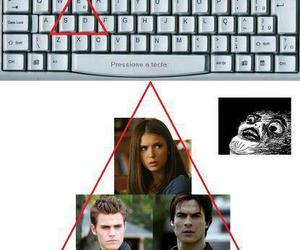 elena, stefan, and damon image