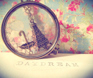 love, daydream, and flowers image