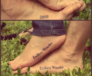endless, les miserables, and tattoo image