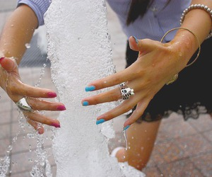 fashion, fountain, and lace image
