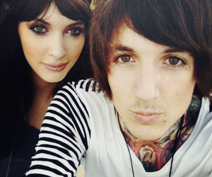 couple, bring me the horizon, and oliver sykes image