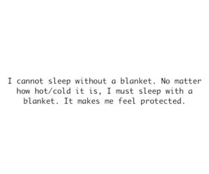 blanket, text, and sleep image