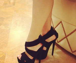 legs, heels, and shoes image