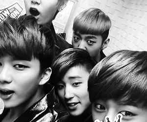 selca, bap, and daehyun image