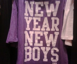 boys, new year, and t-shirt image