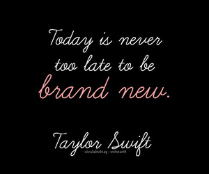 Taylor Swift and quote image