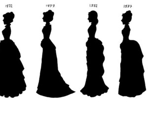 fashion, dress, and victorian image