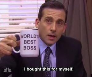 boss and the office image