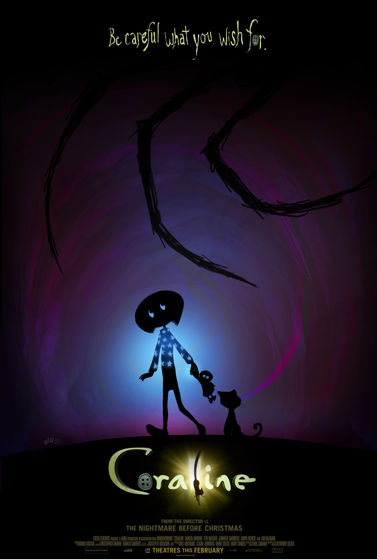 Image About Coraline In Drawings By Talentina