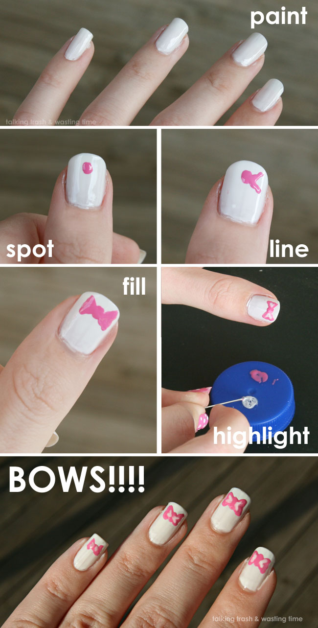 How To Do Design On Nails Choice Image - easy nail designs for ...