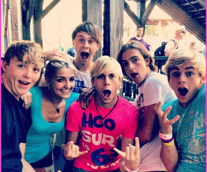 r5, rydel, and rocky image