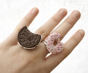 rings, oreo, and ring image