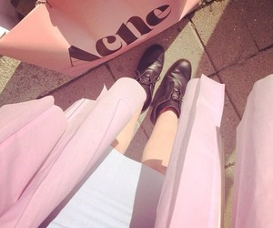 acne, fashion, and pink image