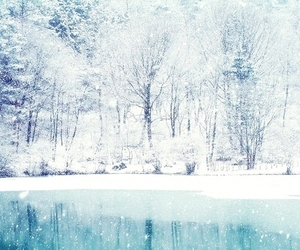blue, ice, and photography image