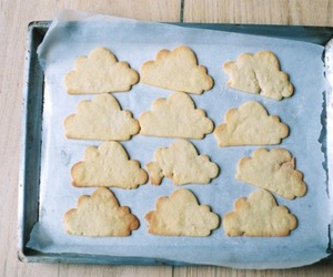 clouds, Cookies, and food image