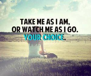 choice, quote, and life image