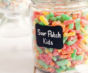 candy, food, and sour patch kids image