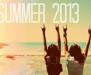 bff, summer, and friend image