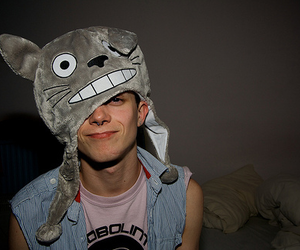 boy, cute, and totoro image