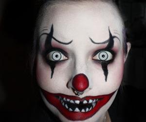 Halloween, make up, and makeup image