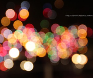 bokeh and colors image