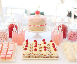 cake, sweets, and cupcakes image
