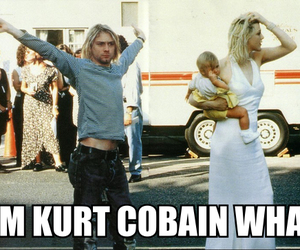 Courtney Love, grunge, and kurt cobain image