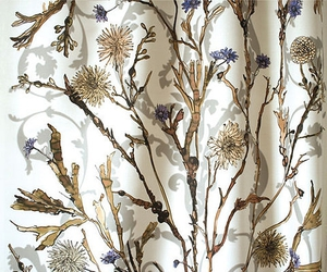 florals, natural, and tapestry image