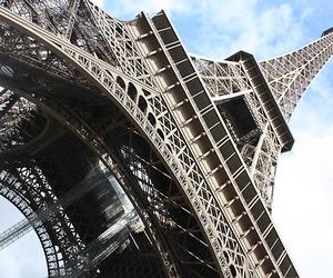 eiffel tower, paris, and beautiful image