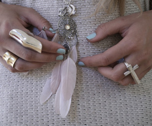dream catcher, fashion, and nails image