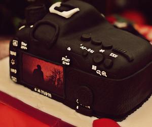 cake, canon, and camera image