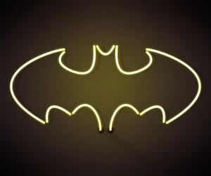 batman, light, and text image