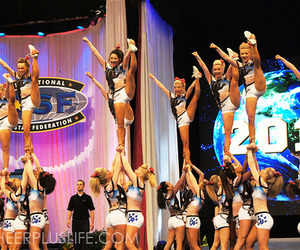 cheer, cheerleader, and panthers image