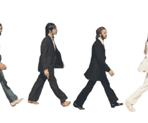 beatles, legends, and abbeyroad image