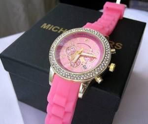 rosa reloj michael kors image