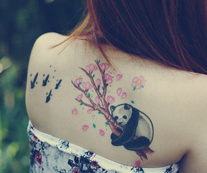 tattoo and panda image