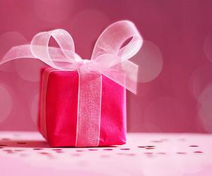 beleza, bow, and cor de rosa image
