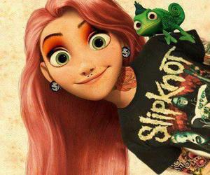 disney, rapunzel, and slipknot image