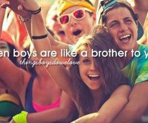 boy, brothers, and friends image