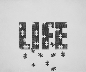 life, puzzle, and live image