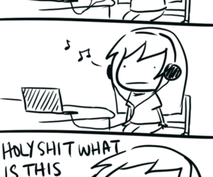 music, eargasm, and funny image